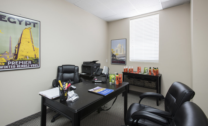 Kitchener Travel Clinic Consultation Room