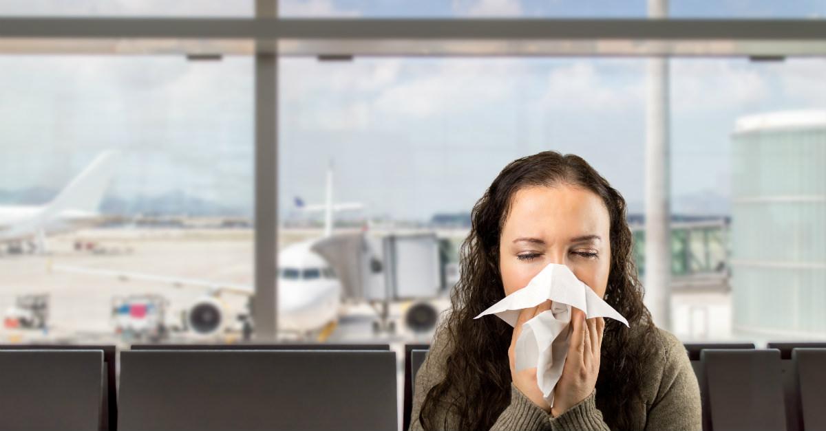 Precauciones al viajar para personas con alergias