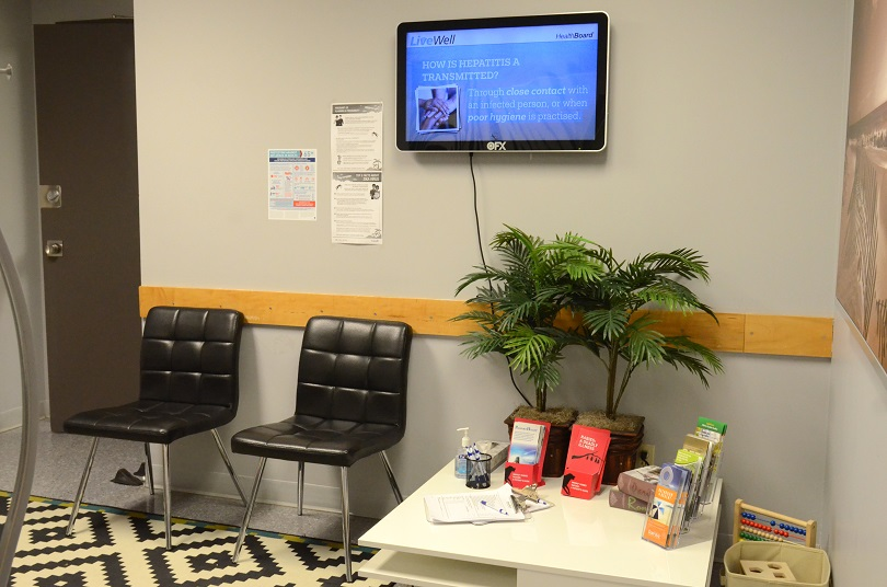 Passport Health Carlington Ottawa Travel Clinic Lobby