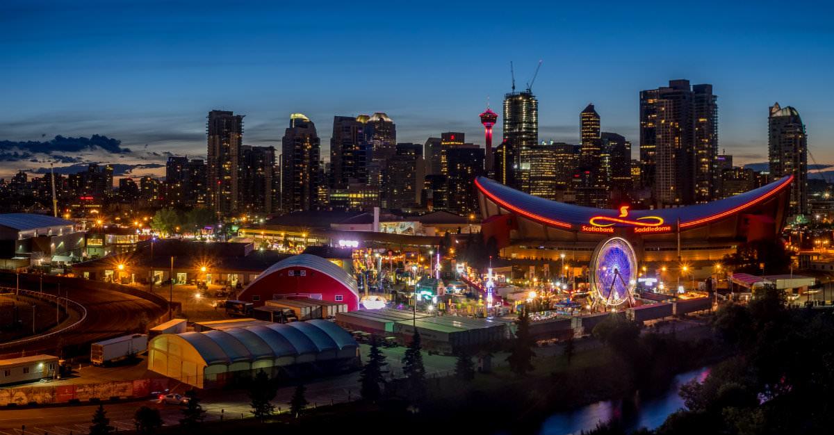 Le Calgary Stampede est le plus gros évènement de l'année dans la ville et crée plusieurs opportunités de contracter une maladie.