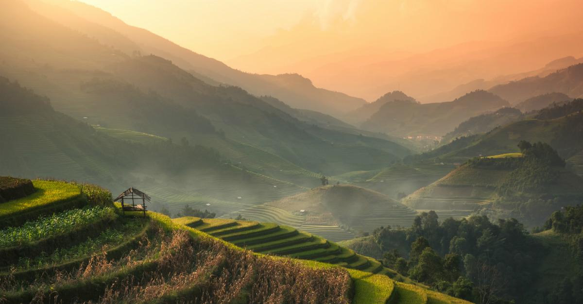 Le lever du soleil crée une lumière naturelle incomparable pour vos photos.