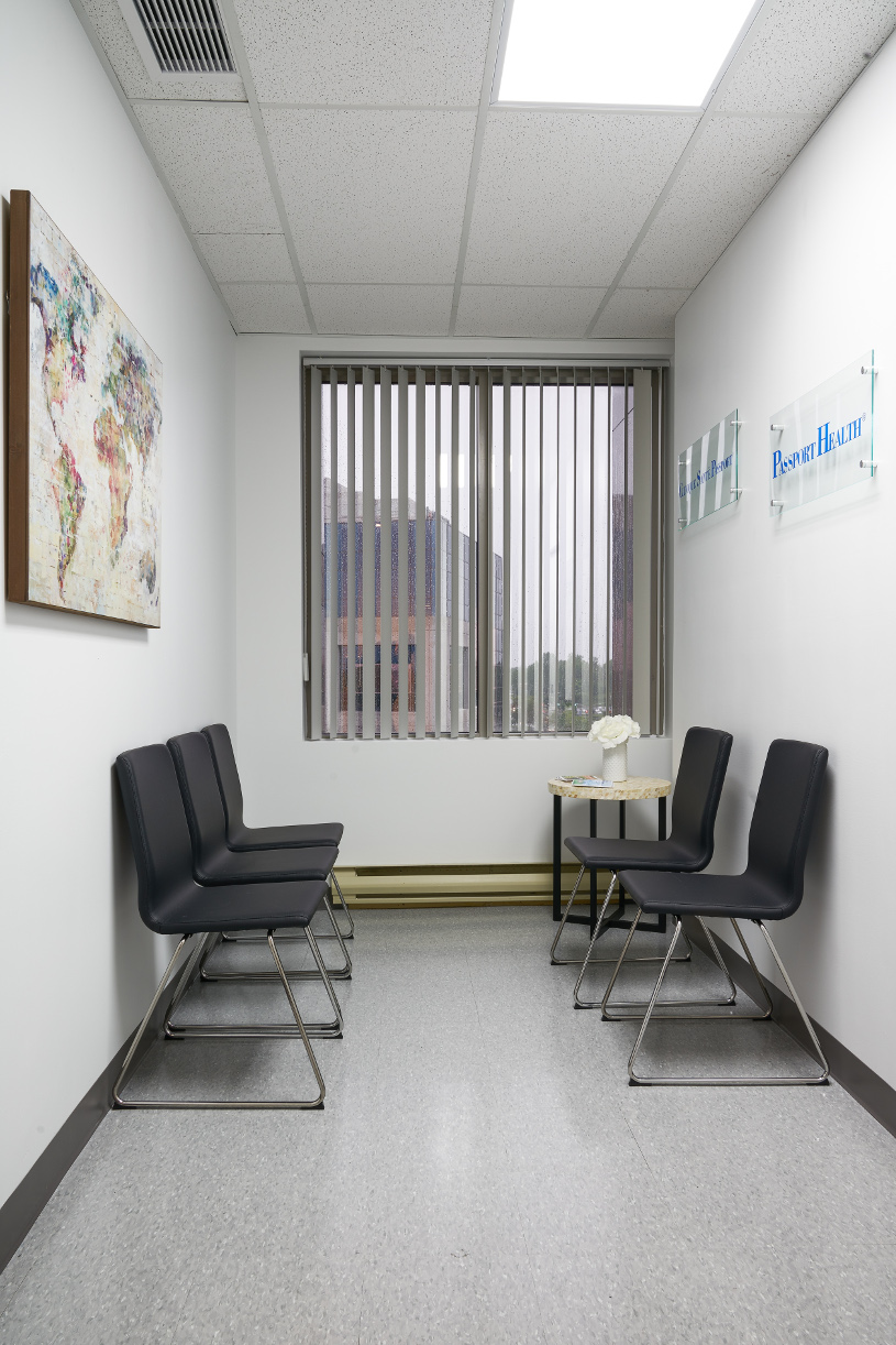 Passport Health Laval Travel Clinic Lobby