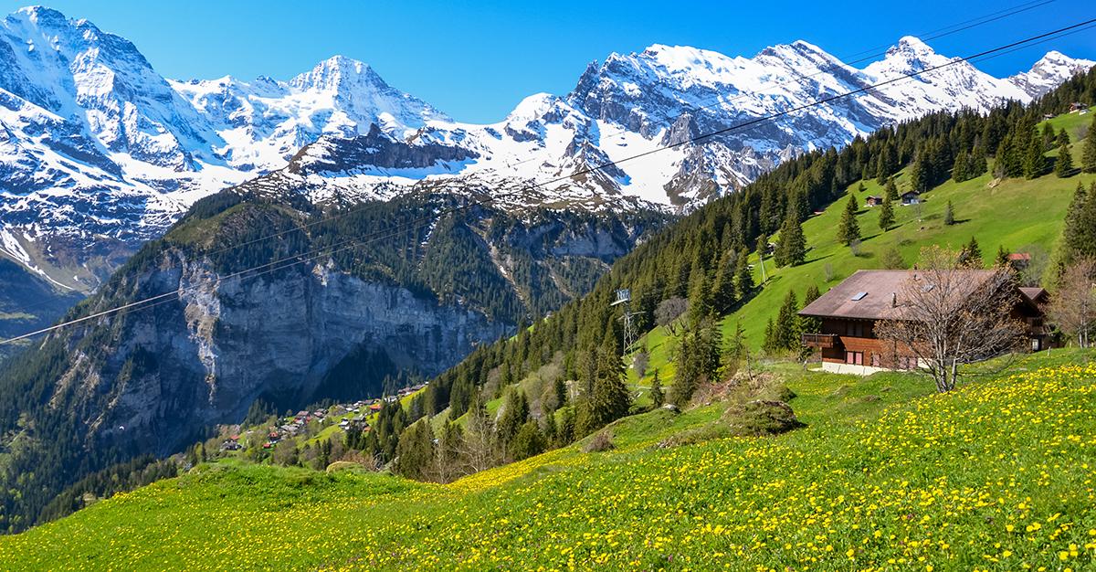 Mürren, Suiza