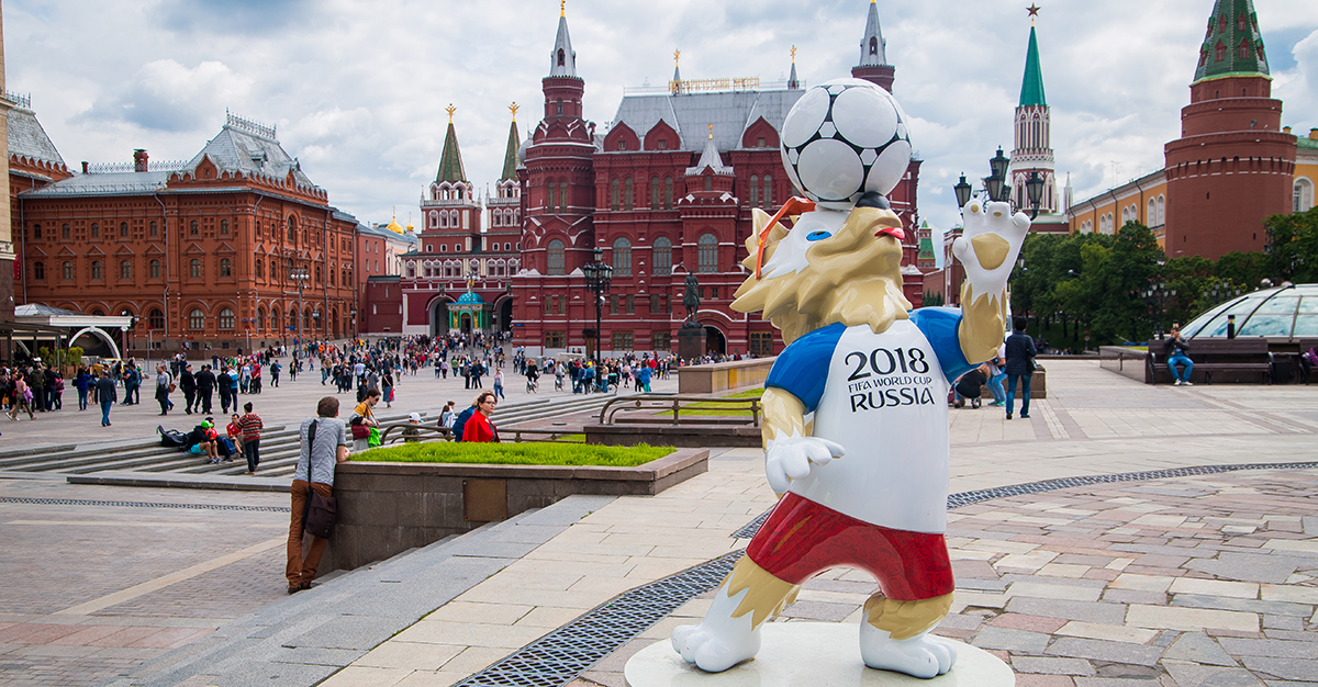¡Rusia agárrate que ahí te voy!