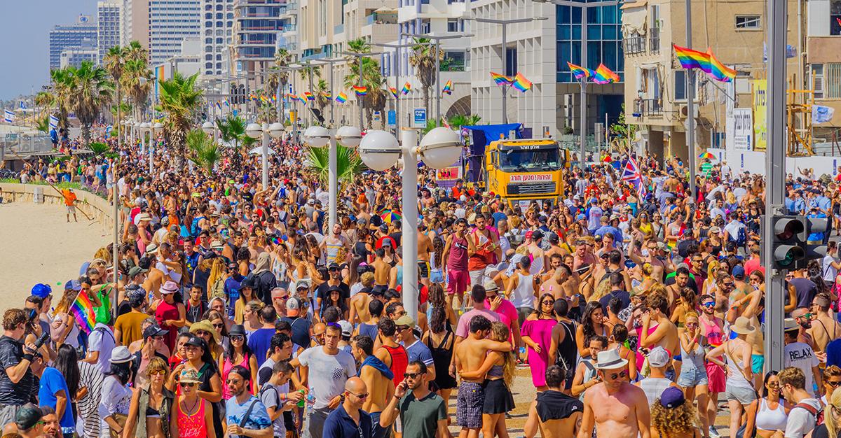 De fiesta en Tel Aviv