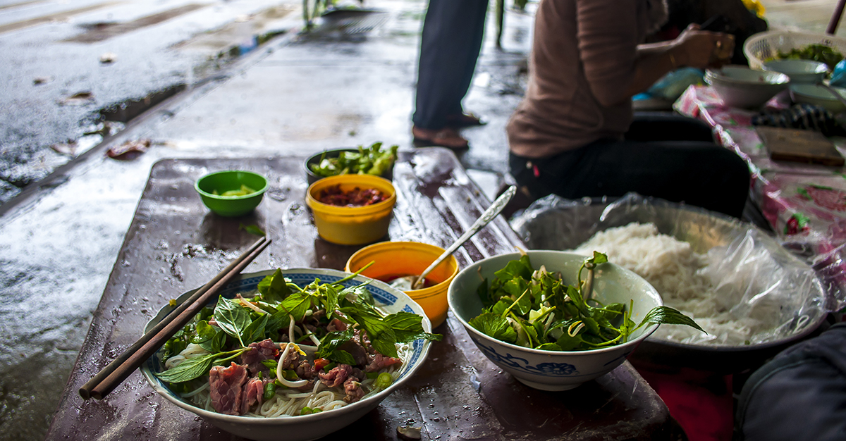 La gastronomía vietnamita