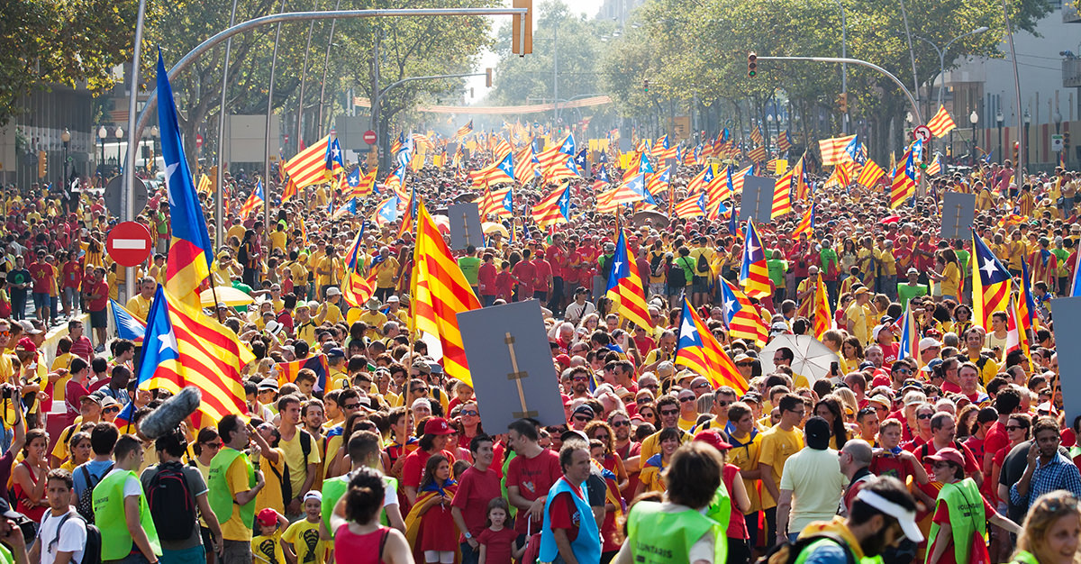 Lo que debes saber de la independencia de Cataluña y España