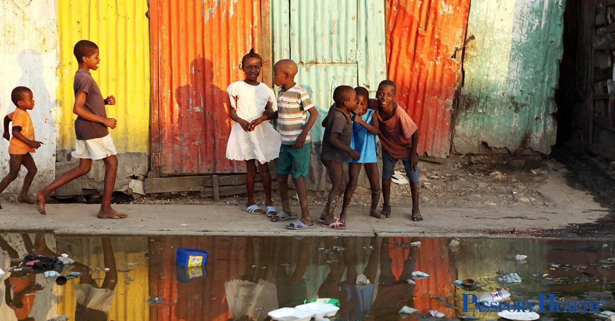 El cólera en Haití