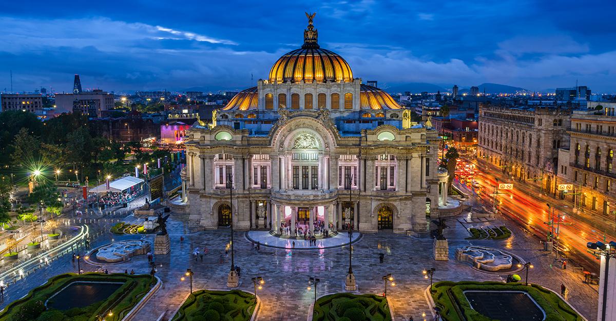 Conoce el Palacio de Bellas Artes