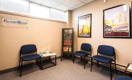 Barrie Travel Clinic Waiting Room