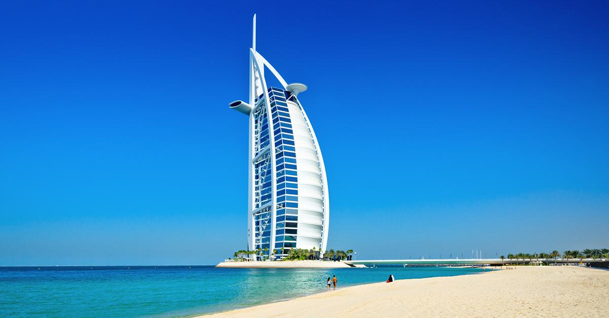 Conoce el Burj Al Arab, el único hotel 7 estrellas