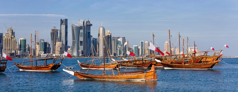 Qatar tiene de todo para explorar. Asegúrate de ir en forma segura con tus vacunas de viaje y los consejos de Passport Health.