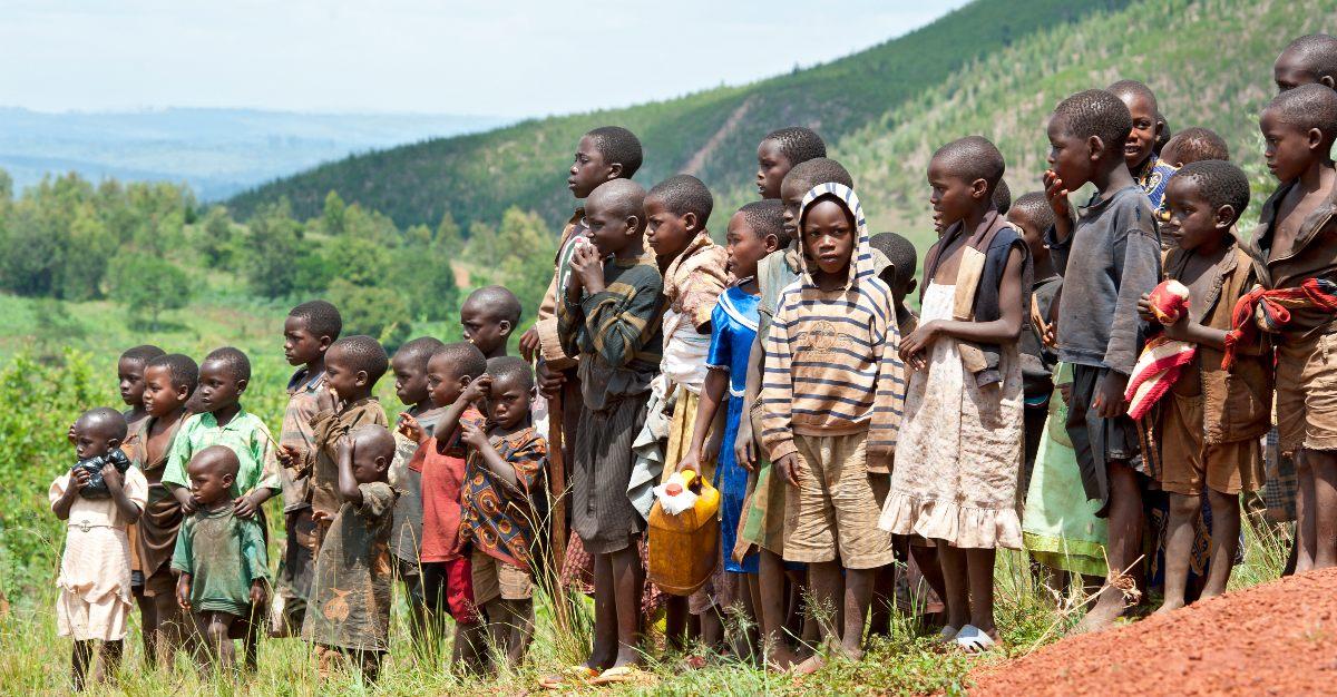 Más de 7 millones de casos de malaria en el brote de Burundi, África.