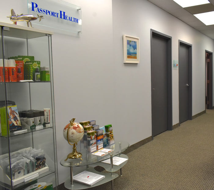 Passport Health Downtown Toronto location.