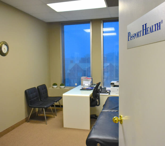 Passport Health - Oakville location.